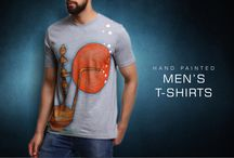 Men's tshirt / Hello shoppers ! Buy these attractive #handpainted men's #tshirt by #rangrage ! Visit our website for shopping