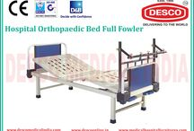 Orthopedic Beds Manufacturers in India / We are the suppliers of Orthopedic bed with features of mechanically operated back rest, knee rest and trendelenburg (TR) all by crank mechanism. To get more details check out our website.