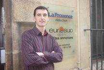 On En Parle, Stéphane Grare Dans « La Provence » / L'auteur était présent dans les locaux du journal « La Provence ».