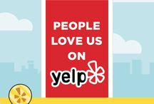 """People Love Us On YELP"" Award 2015 Recipient / People on YELP love SIlver Cross Hospital"