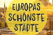 Reiseziele in Europa / Reisen rund um Europa - ob Städtetrips, Strände, Wandern oder einfach nur Sehenswürdigkeiten.
