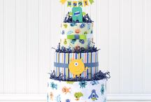 baby gifts for boys / Our selection of unique baby boy gifts including diaper cakes, baby bouquets, cupcakes, and shower decorations!