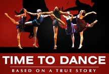 """Graphics & Covers / """"Time to Dance"""" graphics and covers www.timetodancethemovie.com"""
