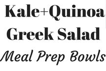 Meal Prep / Meal prep bowls, sheet pan dinners, meal planning tricks and tools. Everything to help you get healthy food on the table quickly.