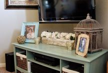 Rustic Entertainment Center / Entertainment center ideas
