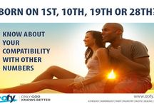 Compatibility / People born on different dates have different compatibility measures. A compatible relationship can always make your life more magical so make a note of your Date of Birth and see how compatible you are with other numbers!