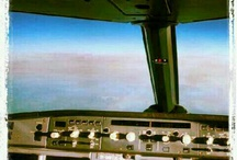 Cockpit view - Olympic Air