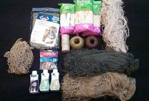 GHILLIE PROJECT!!!!! (with mum) / Gonna make a BDU back only Ghillie Suit