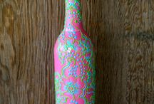 Wine Bottle Inspiration / by Katie Wickery