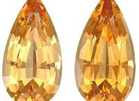 Gemstone Topaz / Topaz is linked with the sun, due to its fiery color, and like many other gemstones, is deemed to be a royal gemstone.