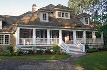 Country Living & Wrap around Porches.