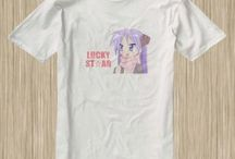 Lucky Star Anime Tshirt