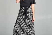 Spring 2018 Plus Size Maxi Collection