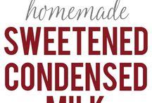 homemade condense milk