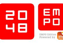 2048 EMPO Edition / Play 2048 and listen to the best electronic music from EMPO!
