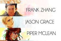 The heros of olympus