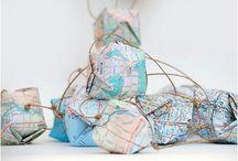 Maps globes / by Marji Roy