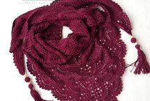 Crochet ** Xailes, cachecol, golas
