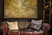 Robert's Maps / Stylish Vintage Maps
