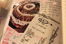 ほぼ日手帳hobonichi / 私のほぼ日手帳中身。 #hobonichi#カズン中心#マスキングテープが多い。