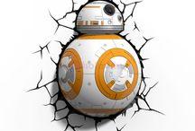 Star Wars lámpák