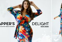 debshops | that's a wrap ♡ / We love wrap dresses in every fabric, print, length for any occasion  www.DEBSHOPS.com Plus Size - Curvy