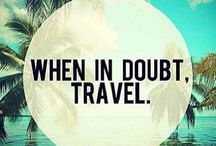 Travel and inspirational quotes / Get motivated to explore the world with memorable quotes