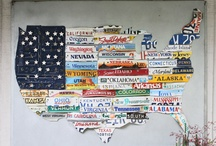 License Plates / by Laura Robinson