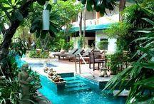 Swimming pool future home