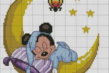 kaneviçe bebek battaniyesi
