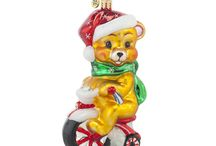 Beary Excited for Christmas / These cute little bears just can't wait to climb up onto your tree! Muffy Vanderbear and her friends will help fill your Christmas season with good cheer.