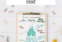 Disney Cruise Character Autograph Keepsake Ideas