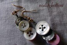 orecchini bottoni