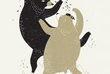 Ilustrações (Ursos e algo mais)