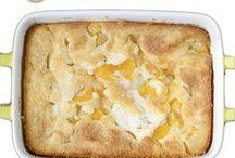 Recetas de tarta de melocotón