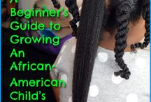 Kids / Everything you need to know about caring for your little ones hair! / by AfroAvenue