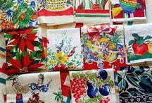 Tea Towels and Tablecloths