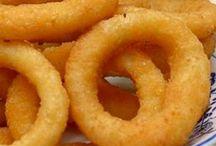 Onion ring/ dip fry...