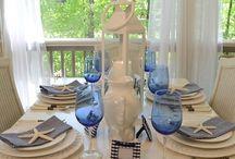 Tablescapes / Tablescapes, table settings, table ideas, table decorating ideas, centerpieces,