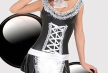 Provocative lingerie costumes