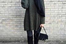 hijabi outfits /winter