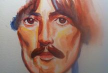 watercolor george