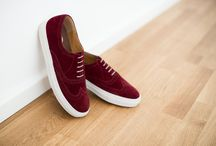 Süet men shoes