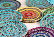 Háčkované bytové doplňky / háčkování, pletení