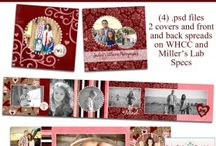 Valentine's Templates / Darling #Valentine Photoshop Templates - Cards, Wallets, Timeline Covers, Rep Cards