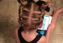 причёски для дочки