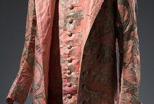 1750 - 1759 / kleding voor dames en heren van de jaren 1750 - 1759