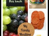 Back to School Lunches and Organization / Ideas and tips for Back to School, lunchbox ideas, quick meals, organizational tips, and back to school inspiration.