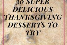 Thanksgiving - Desserts