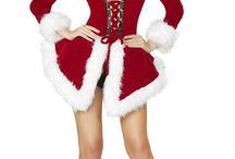 Christmas Costumes / Christmas themed costumes. Santa Claus, Elfs, Reindeer, Snowman, Christmas tree,